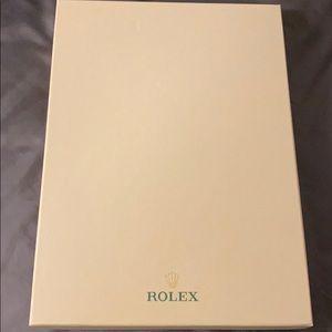 Rolex silk scarf